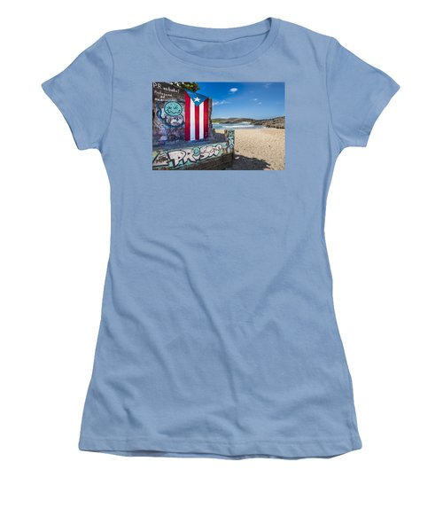 Mar Chiquita  Women's T-Shirt (Athletic Fit)