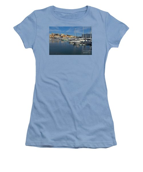 Marina Of Vilamoura At Afternoon Women's T-Shirt (Junior Cut) by Angelo DeVal