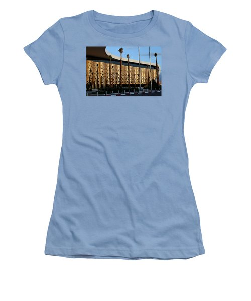 Women's T-Shirt (Junior Cut) featuring the photograph Marrakech Airport 1 by Andrew Fare