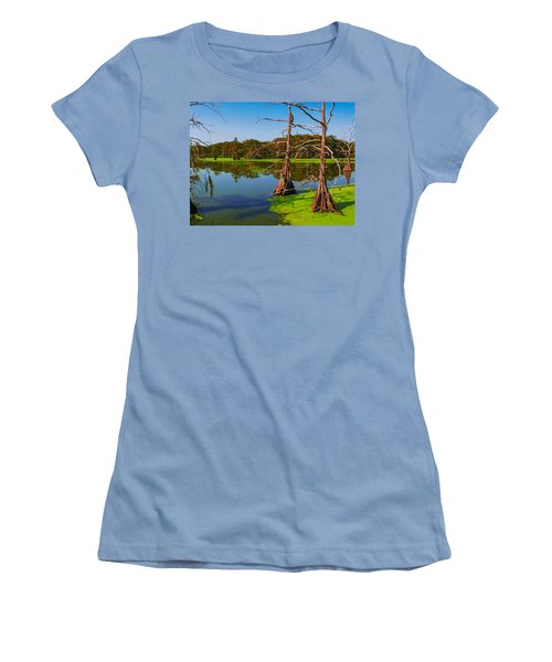 Marshes Of Wallisville Women's T-Shirt (Athletic Fit)