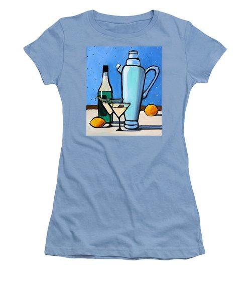 Martini Night Women's T-Shirt (Athletic Fit)