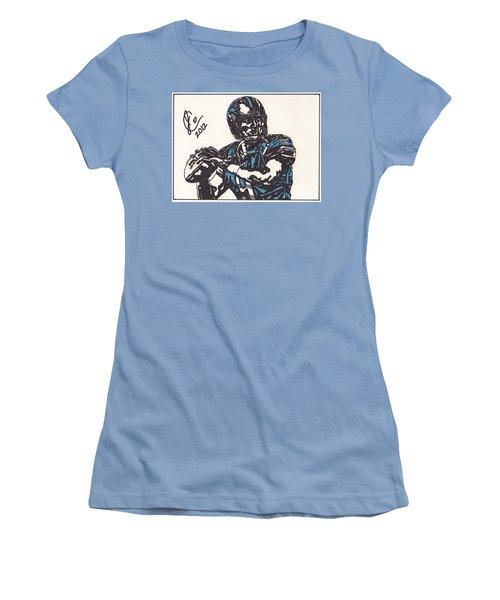 Matthew Stafford Women's T-Shirt (Junior Cut) by Jeremiah Colley