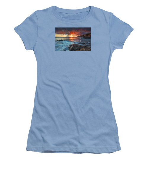 Maui Skies Women's T-Shirt (Junior Cut) by James Roemmling