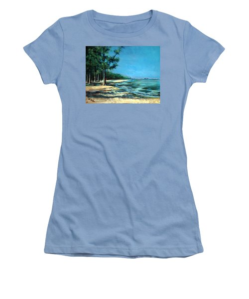 Maybe A Picnic Women's T-Shirt (Junior Cut) by Suzanne McKee