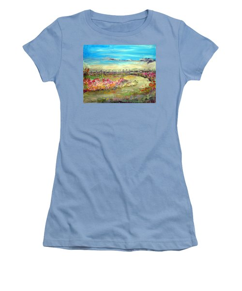 Meadow Bluffs Women's T-Shirt (Athletic Fit)