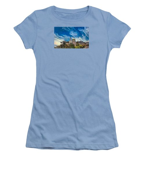Women's T-Shirt (Athletic Fit) featuring the photograph Memories Of San Francisco by John M Bailey