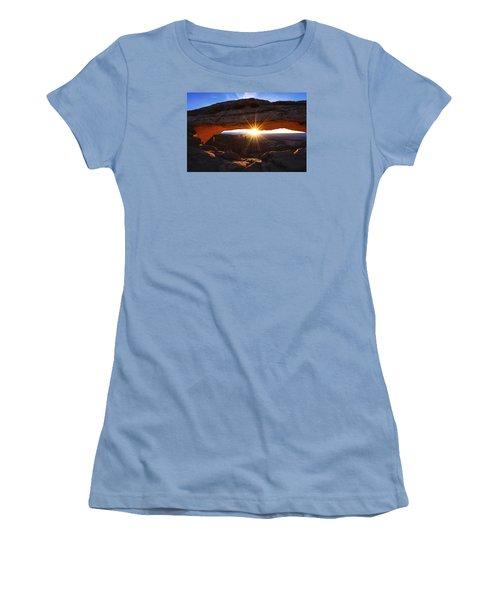 Mesa Sunrise Women's T-Shirt (Junior Cut) by Chad Dutson