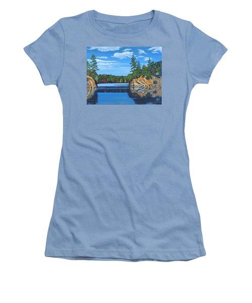 Mink Lake Gap Women's T-Shirt (Athletic Fit)