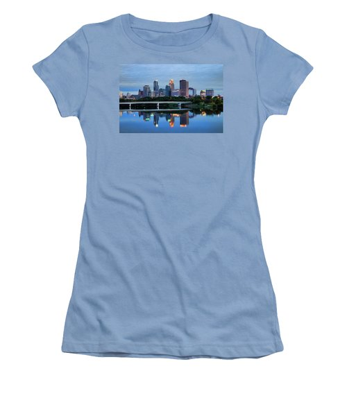 Minneapolis Reflections Women's T-Shirt (Athletic Fit)