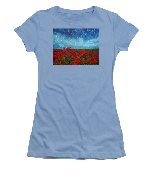 Mischling Women's T-Shirt (Junior Cut) by Matt Konar