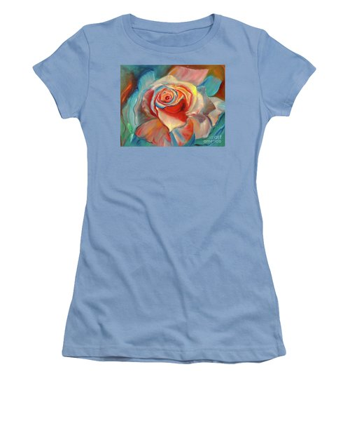 Mon Ami Women's T-Shirt (Junior Cut) by Jenny Lee