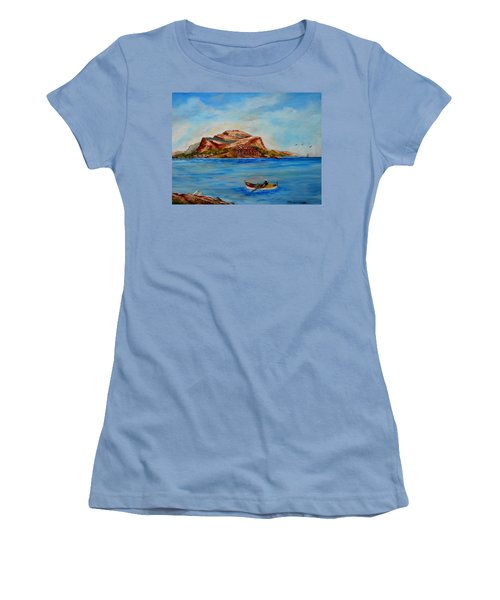 Monemvasia Women's T-Shirt (Athletic Fit)