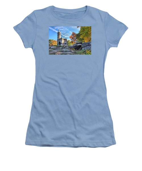 Monument To The 44th Women's T-Shirt (Athletic Fit)