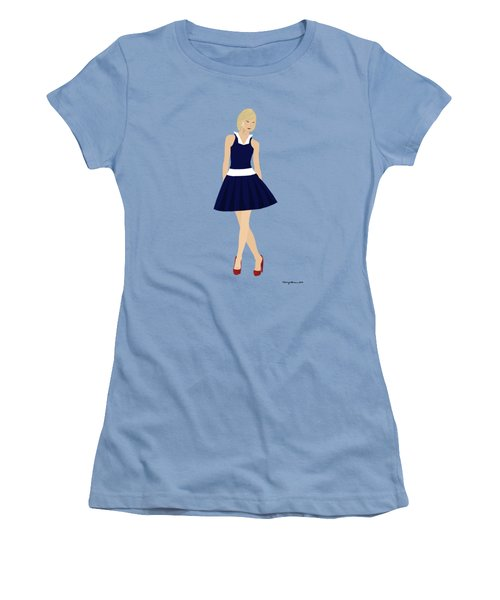 Morgan Women's T-Shirt (Junior Cut) by Nancy Levan