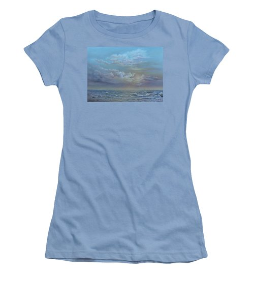 Morning At The Ocean Women's T-Shirt (Athletic Fit)