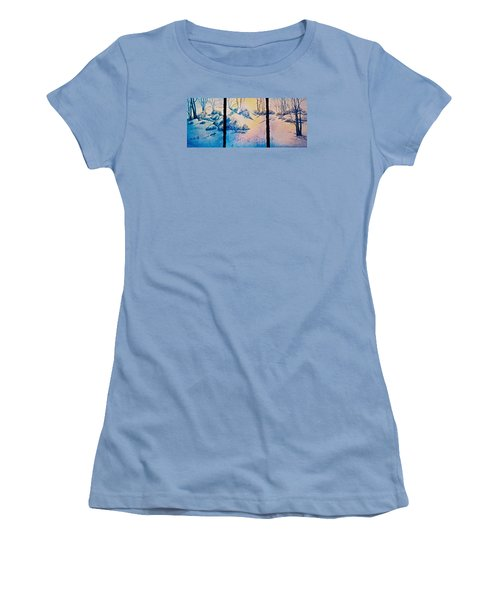 Morning Light Women's T-Shirt (Athletic Fit)