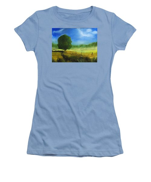 Morning Shade Women's T-Shirt (Athletic Fit)