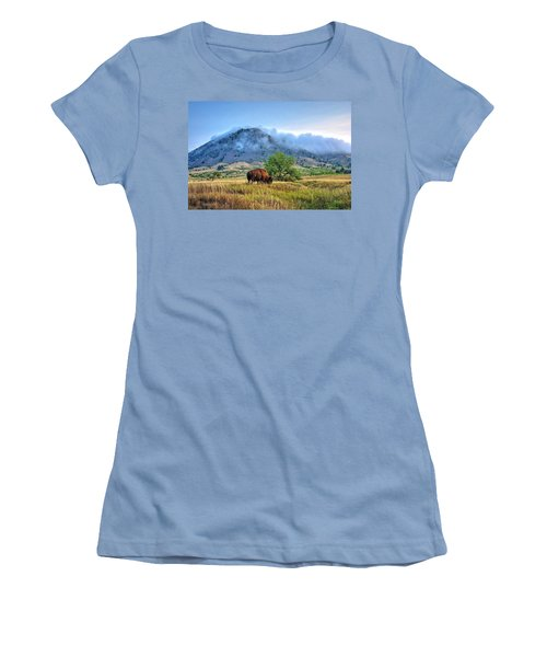 Morning Shift Women's T-Shirt (Junior Cut) by Fiskr Larsen