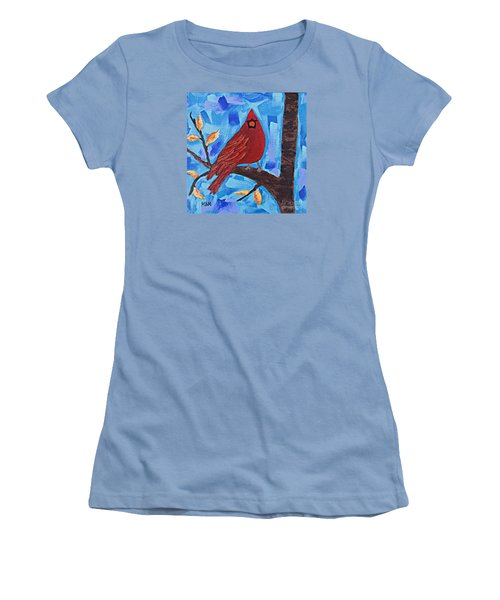 Morning Visit Women's T-Shirt (Athletic Fit)