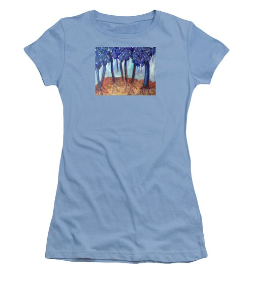 Mosaic Daydreams Women's T-Shirt (Junior Cut) by Elizabeth Fontaine-Barr
