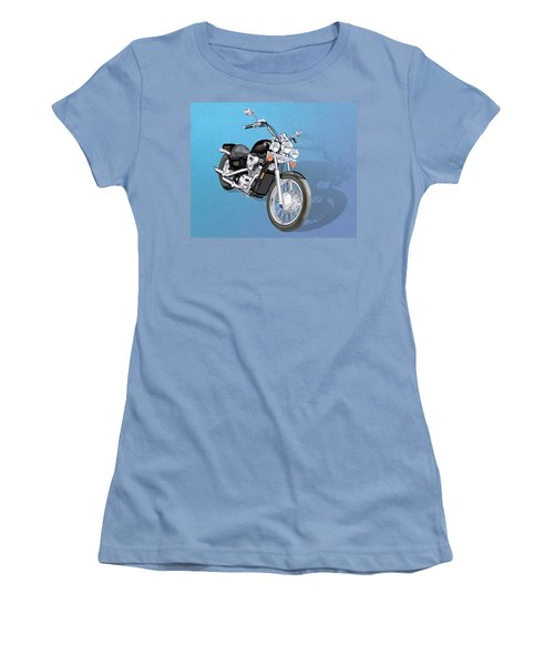 Motorcycle Women's T-Shirt (Athletic Fit)
