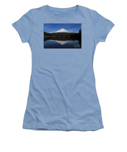 Mount Hood Women's T-Shirt (Athletic Fit)