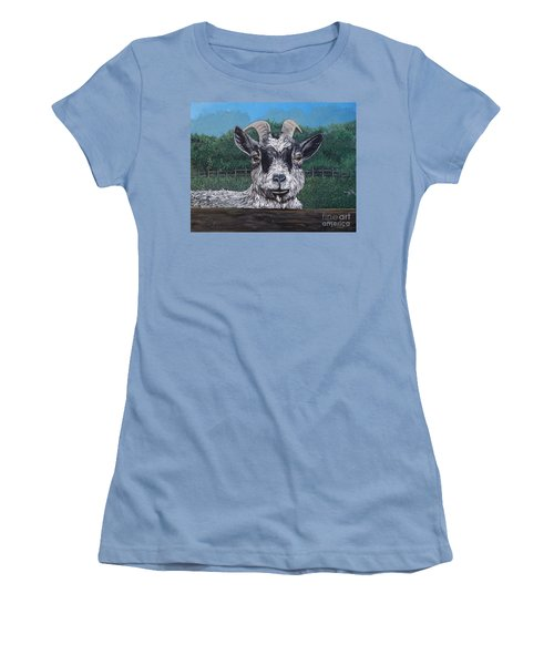 Ms Frisky  Women's T-Shirt (Junior Cut) by Reb Frost