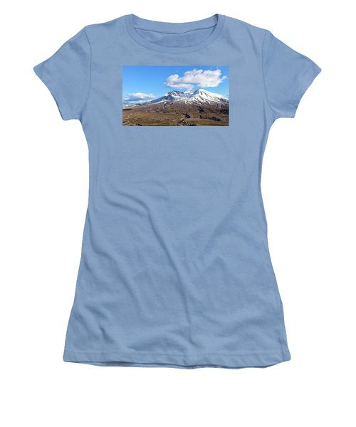 Mt Saint Helens Women's T-Shirt (Athletic Fit)