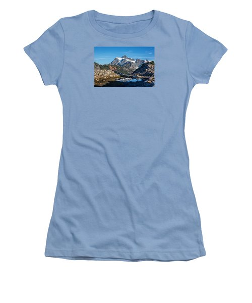Mt. Shuksan Women's T-Shirt (Athletic Fit)