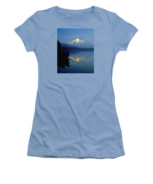 1m4907-v-mt. St. Helens Reflect V  Women's T-Shirt (Athletic Fit)