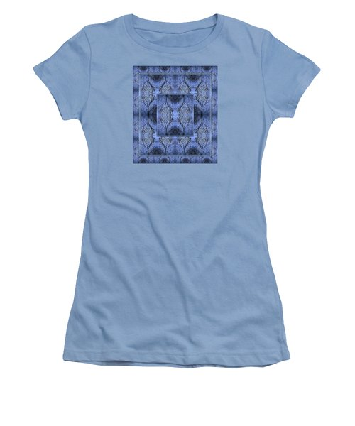 Mystery Blue Women's T-Shirt (Junior Cut) by Joy Nichols