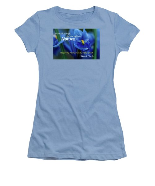 Nature208 Women's T-Shirt (Athletic Fit)