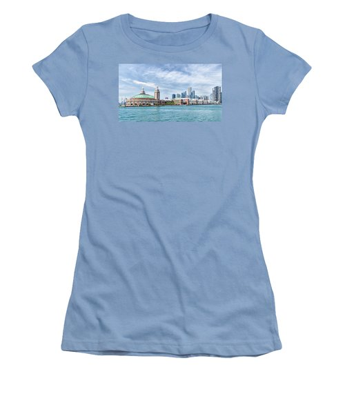 Navy Pier - Chicago Women's T-Shirt (Athletic Fit)