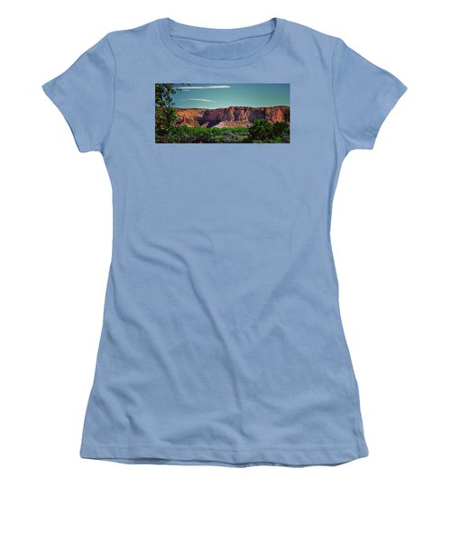 New Mexico Mountains 004 Women's T-Shirt (Junior Cut) by George Bostian