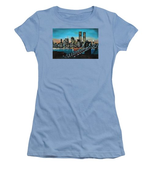New York 910 Women's T-Shirt (Athletic Fit)