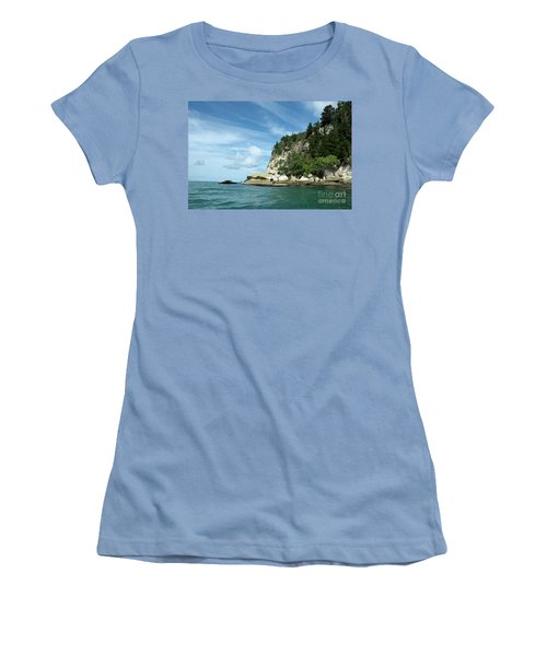 Women's T-Shirt (Junior Cut) featuring the photograph New Zealand Beauties by Yurix Sardinelly