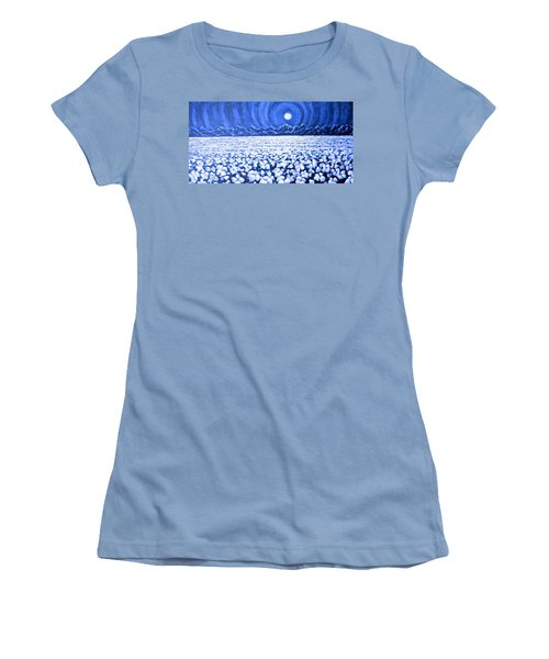 Night Light Women's T-Shirt (Athletic Fit)