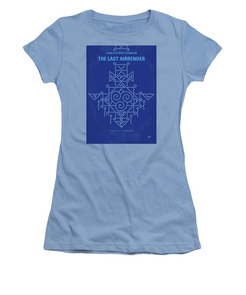 Women's T-Shirt (Junior Cut) featuring the digital art No764 My The Last Airbender Minimal Movie Poster by Chungkong Art