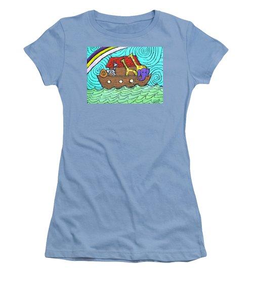 Noahs Ark Two Women's T-Shirt (Athletic Fit)