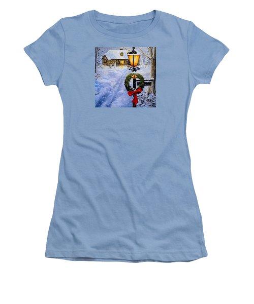 Noel Women's T-Shirt (Junior Cut) by Alan Lakin