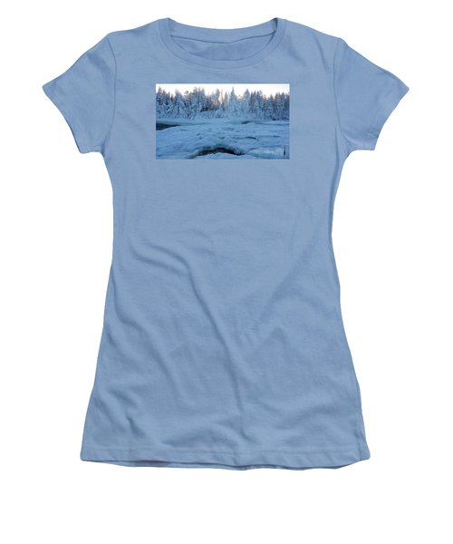 North Of Sweden Women's T-Shirt (Athletic Fit)