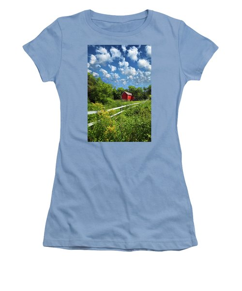 Noticing The Days Hurrying By Women's T-Shirt (Athletic Fit)