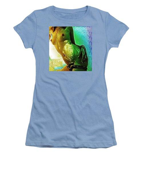 Nudey Women's T-Shirt (Junior Cut) by Piety Dsilva