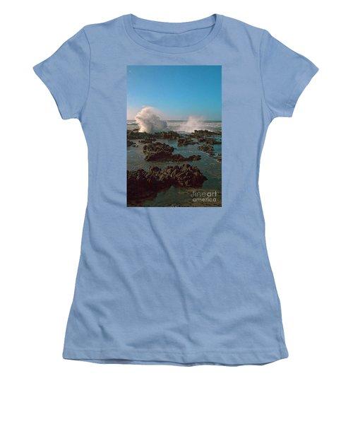 Ocean Spray Women's T-Shirt (Junior Cut) by Billie-Jo Miller