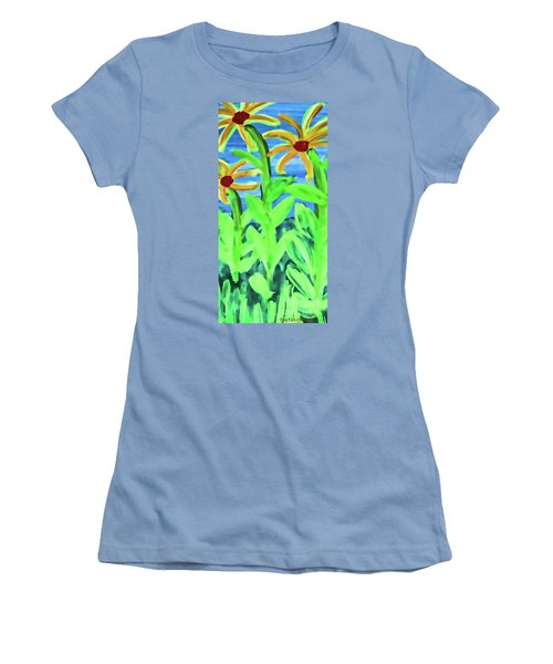 Oh Glorious Day Women's T-Shirt (Junior Cut) by Roberta Byram