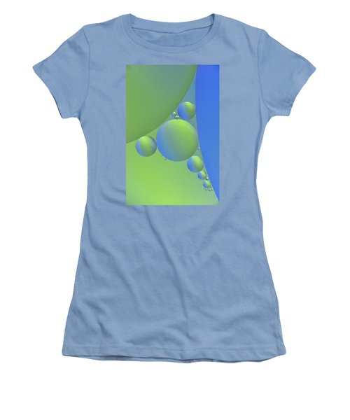 Oil Painting Women's T-Shirt (Athletic Fit)