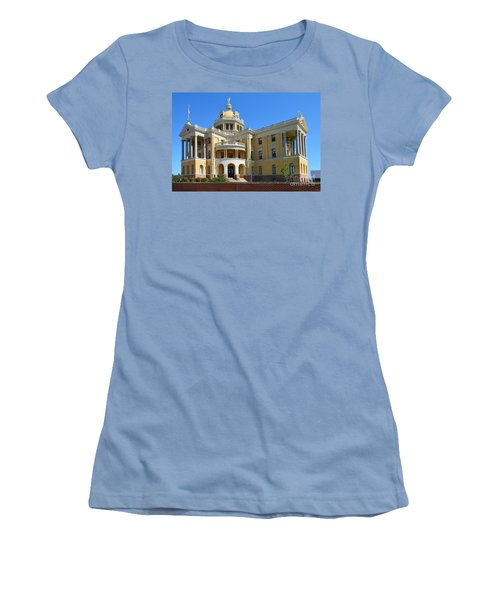Old Harrison County Courthouse Women's T-Shirt (Athletic Fit)