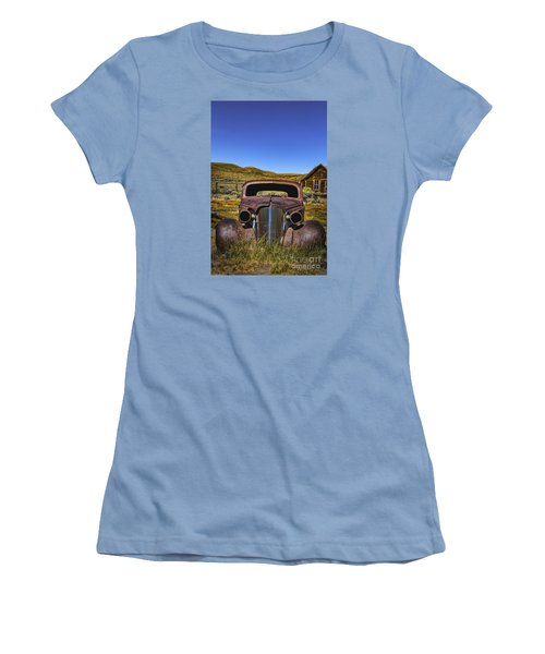 Women's T-Shirt (Junior Cut) featuring the photograph Old Rusty by Mitch Shindelbower