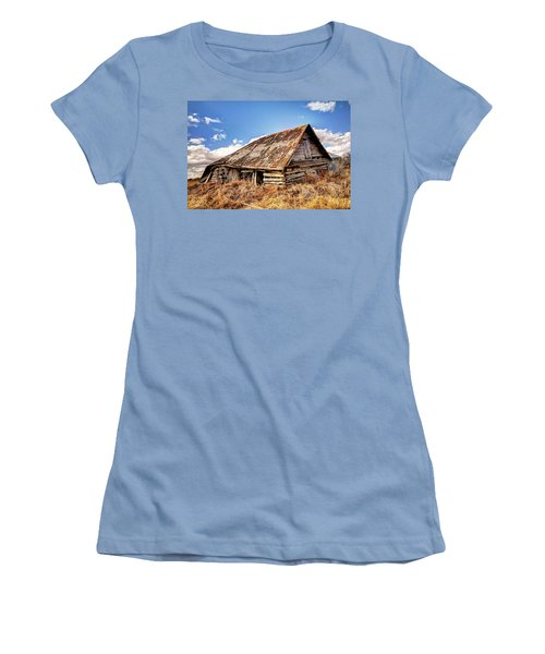 Old Times Women's T-Shirt (Junior Cut) by Ryan Crouse
