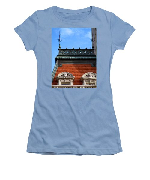 Women's T-Shirt (Junior Cut) featuring the photograph On A Clear Day by RC DeWinter